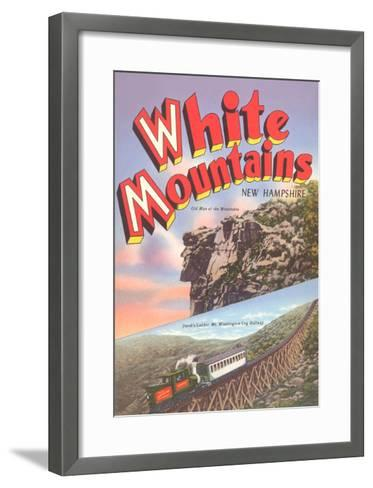 White Mountains, New Hampshire--Framed Art Print