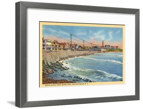 Great Boar's Head, Hampton Beach, New Hampshire--Framed Art Print