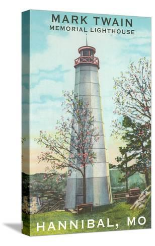 Mark Twain Lighthouse, Hannibal, Missouri--Stretched Canvas Print