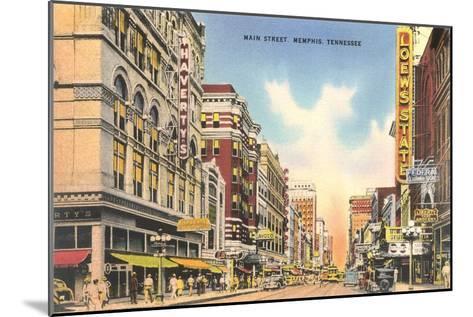 Downtown Memphis--Mounted Art Print