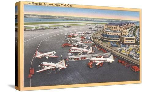 La Guardia Airport, New York--Stretched Canvas Print