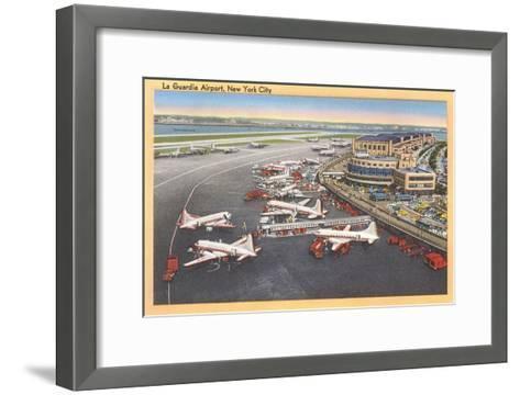 La Guardia Airport, New York--Framed Art Print