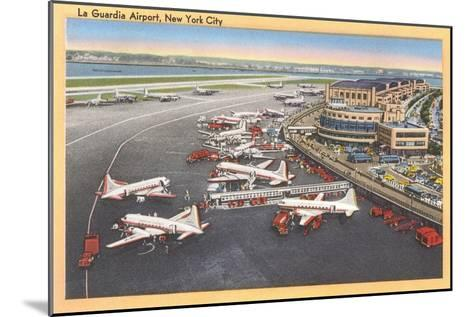 La Guardia Airport, New York--Mounted Art Print
