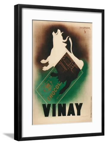 Poster for Vinay Chocolate--Framed Art Print
