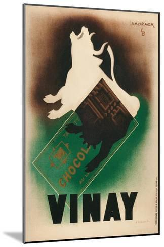 Poster for Vinay Chocolate--Mounted Art Print