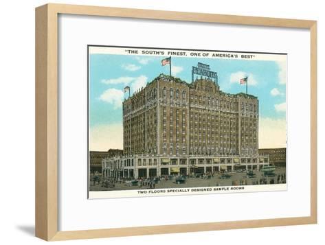 Peabody Hotel, Memphis--Framed Art Print