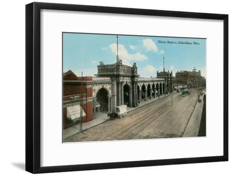 Union Station, Columbus, Ohio--Framed Art Print