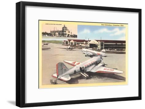 Port Columbus Airport--Framed Art Print