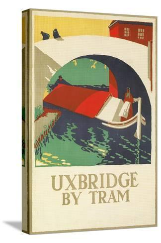 Uxbridge by Tram--Stretched Canvas Print
