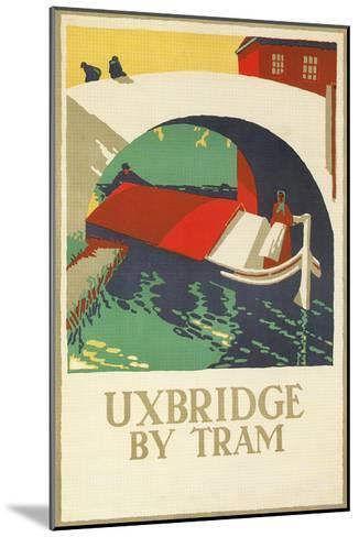 Uxbridge by Tram--Mounted Art Print