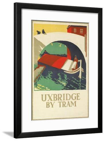 Uxbridge by Tram--Framed Art Print