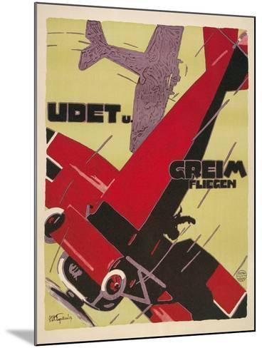 Udet Und Greim Aviation--Mounted Art Print