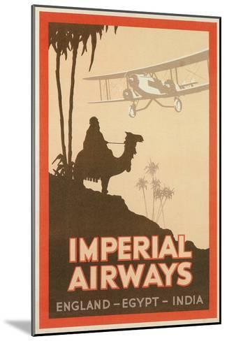 Travdel Poster for Imperial Airways--Mounted Art Print