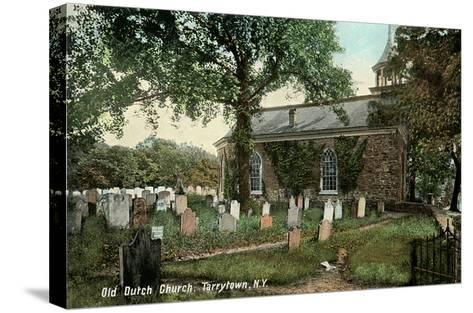Old Dutch Church, Tarrytown, New York--Stretched Canvas Print