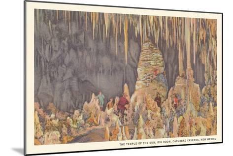 Big Room, Carlsbad Caverns, New Mexico--Mounted Art Print