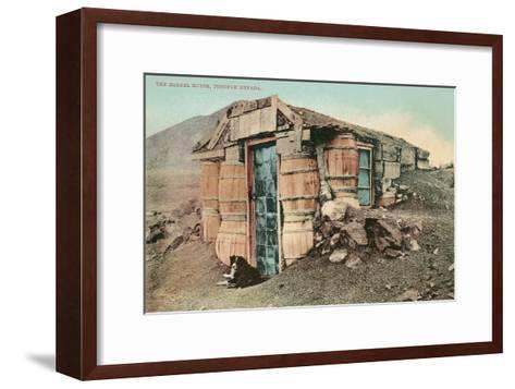 Barrel House, Tonapah, Nevada--Framed Art Print