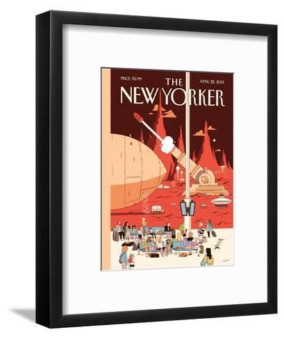 The New Yorker Cover - April 22, 2013-Luke Pearson-Framed Art Print