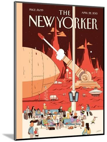 The New Yorker Cover - April 22, 2013-Luke Pearson-Mounted Premium Giclee Print