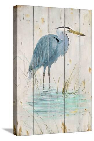 Blue Heron-Arnie Fisk-Stretched Canvas Print