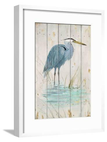 Blue Heron-Arnie Fisk-Framed Art Print