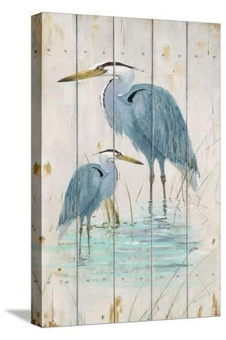 Blue Heron Duo-Arnie Fisk-Stretched Canvas Print