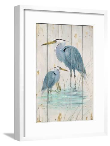 Blue Heron Duo-Arnie Fisk-Framed Art Print