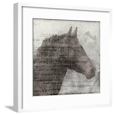 Equestrian Story 1-Ken Roko-Framed Art Print