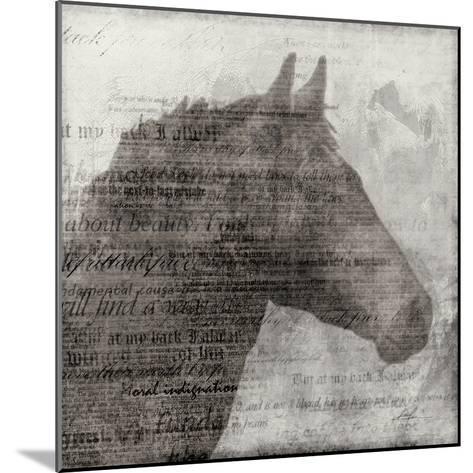 Equestrian Story 1-Ken Roko-Mounted Art Print