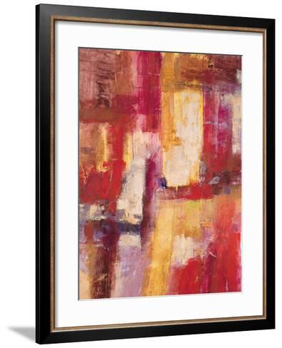 Sorbet and Berries 1-Sarah Abbott-Framed Art Print