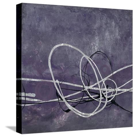 Aubergine Directions 2-Filippo Ioco-Stretched Canvas Print