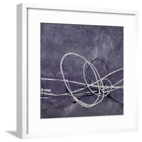 Aubergine Directions 2-Filippo Ioco-Framed Art Print