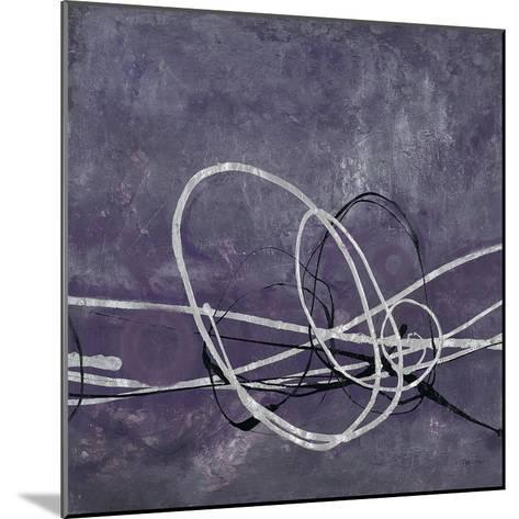 Aubergine Directions 2-Filippo Ioco-Mounted Art Print