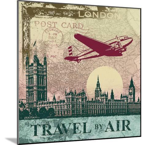 Travel by Air-Malcolm Watson-Mounted Art Print
