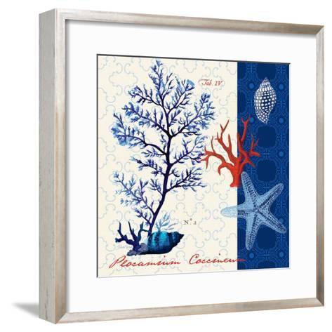 Coastal Botanical-Devon Ross-Framed Art Print