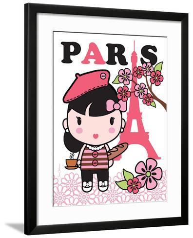 Paris Cutie-Joan Coleman-Framed Art Print