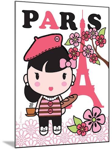 Paris Cutie-Joan Coleman-Mounted Art Print
