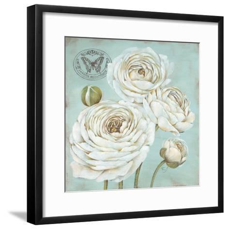Ranunculus Stamp-Stefania Ferri-Framed Art Print