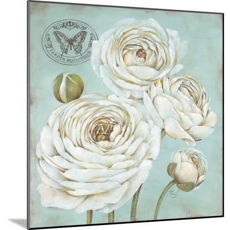 Ranunculus Stamp-Stefania Ferri-Mounted Art Print