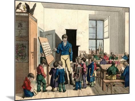 The School-Johann Michael Voltz-Mounted Giclee Print
