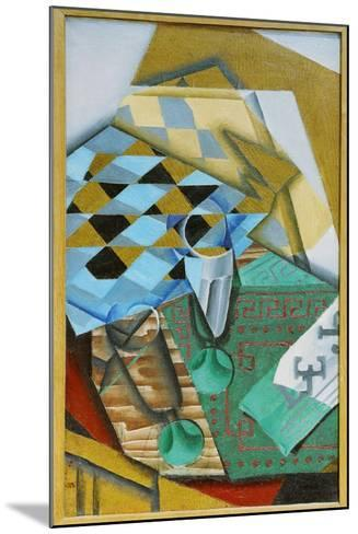 The Chess Board, 1914-Juan Gris-Mounted Giclee Print