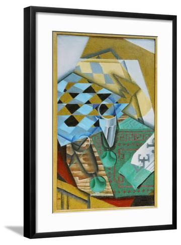 The Chess Board, 1914-Juan Gris-Framed Art Print