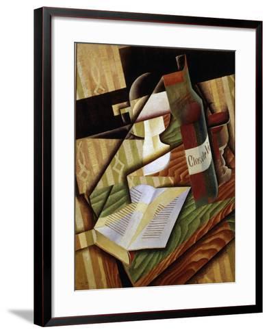 Le Livre (The Book), 1915-Juan Gris-Framed Art Print
