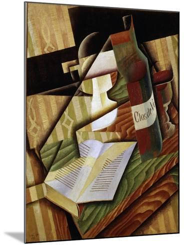 Le Livre (The Book), 1915-Juan Gris-Mounted Giclee Print