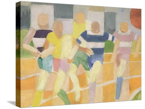The Runners, c.1924-Robert Delaunay-Stretched Canvas Print