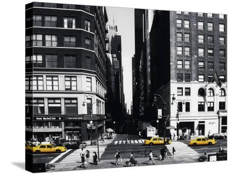 Fifth Avenue, New York, USA--Stretched Canvas Print