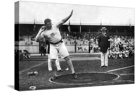 Pat MacDonald at the 1912 Summer Olympics in Stockholm, 1912--Stretched Canvas Print