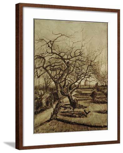 Parsonage Garden in Nuenen, March 1884-Vincent van Gogh-Framed Art Print