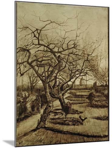 Parsonage Garden in Nuenen, March 1884-Vincent van Gogh-Mounted Giclee Print