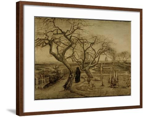 Winter Garden, March 1884-Vincent van Gogh-Framed Art Print