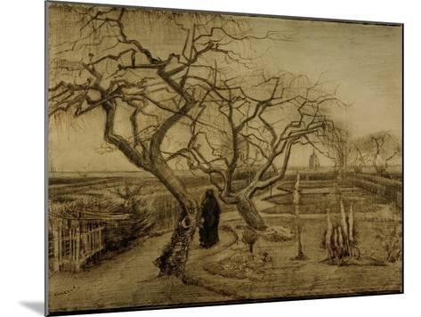 Winter Garden, March 1884-Vincent van Gogh-Mounted Giclee Print
